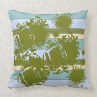 Fish and Sea Urchins Throw Cushions