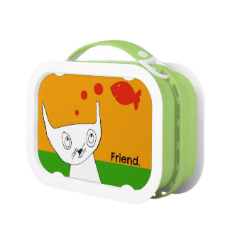 Fish are Friends Kitty Lunch Box