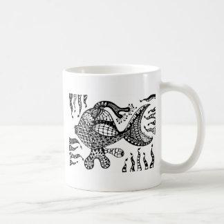 Fish Basic White Mug