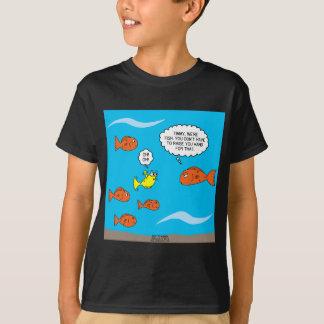 Fish Bathroom T-Shirt