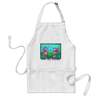 Fish Cell Phones Funny Tees Mugs Cards & Gifts Aprons