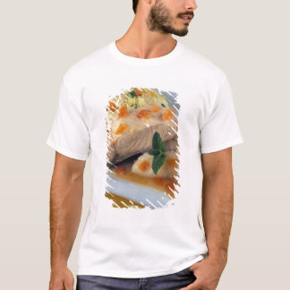 Fish couscous and taboulé For use in USA T-Shirt