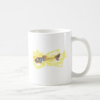 Fish Design - Red Theme Classic White Coffee Mug