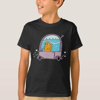 Fish Driving a Car - Kid's T-Shirt