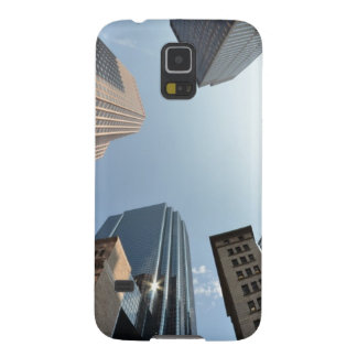 Fish-eye lens of building, Boston, US Case For Galaxy S5