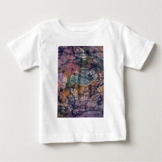Fish & Floral Tie-Dye Batik Shirt