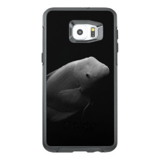 Fish in Tank - Black and White Art Photograph OtterBox Samsung Galaxy S6 Edge Plus Case