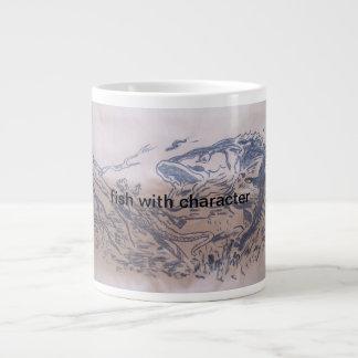 fish jumbo mug