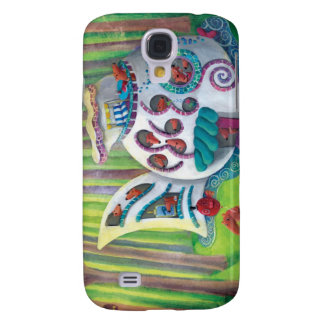Fish Magical  Mansion in the Forest Galaxy S4 Case