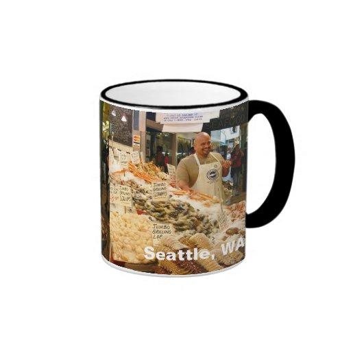Fish Market Seattle WA Mug