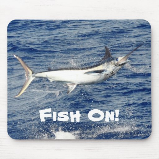Fish On! Mouse Pads