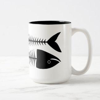 Fish Two-Tone Mug