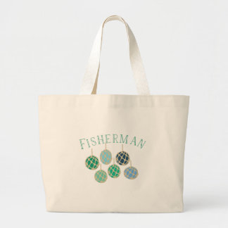 Fisherman Large Tote Bag