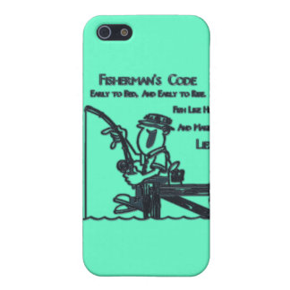 Fishermans Code green Case For iPhone 5/5S