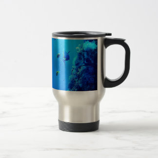 Fishes Stainless Steel Travel Mug