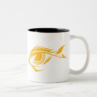 fisheye_logo2 Two-Tone coffee mug