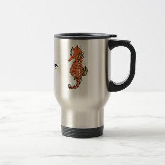Fishfry designs Seahorse travel Mug