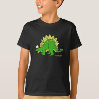 Fishfry designs Stegosaurus Youth Unisex Tshirt