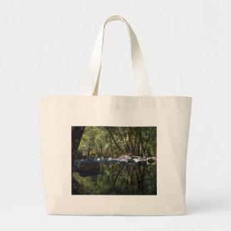 Fishin' Hole Large Tote Bag