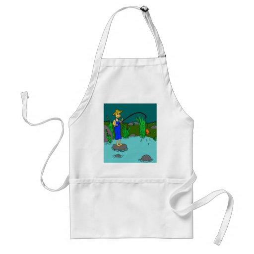 fishing apron