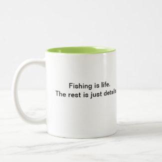 Fishing at Aviemore Coffee Mugs