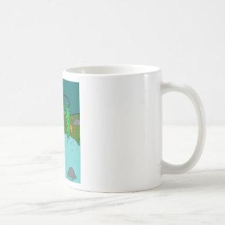 fishing basic white mug