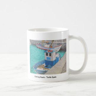 Fishing Boats - Tarifa Spain Classic White Coffee Mug