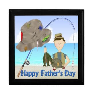 Fishing Father's Day Gift Box/Trinket Box