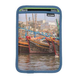 Fishing fleet iPad mini sleeve