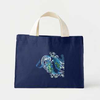 "Fishing for a ""D"" Mini Tote Bag"