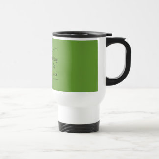 fishing for peace stainless steel travel mug