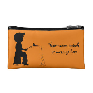 Fishing in the Evening Cosmetic Bag