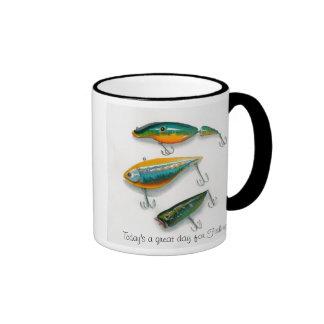 Fishing lures mug