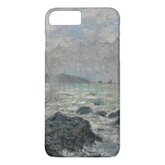 Fishing Nets at Pourville by Claude Monet iPhone 8 Plus/7 Plus Case