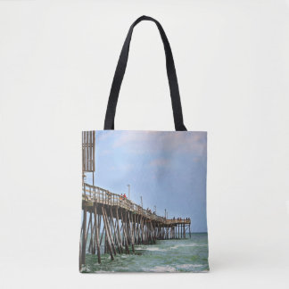Fishing Pier by Shirley Taylor Tote Bag