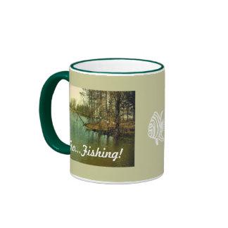 Fishing Spot, Go...Fishing! Coffee Mugs