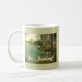 Fishing Spot, Go...Fishing! Coffee Mug
