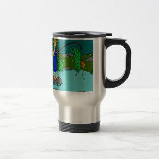 fishing stainless steel travel mug