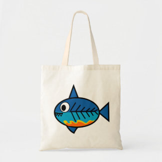 FishingTruths tote bag featuring Hugo.