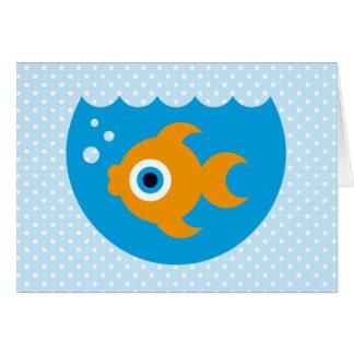 Fishy Greeting Card
