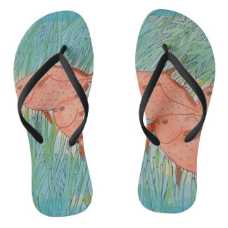 Fishy Fishy Flip Flops Thongs