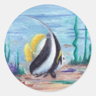 Fishy Fishy Sticker