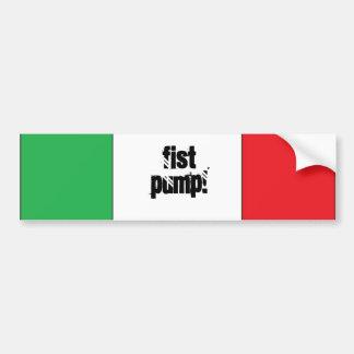 Fist Pump Bumber Sticker Car Bumper Sticker