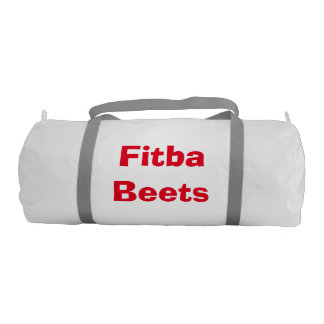 Fitba Beets Bag Gym Duffel Bag