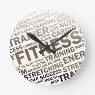 Fitness Center/Personal Trainer Wall Clock