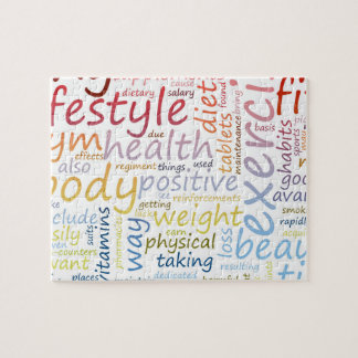 Fitness Concept for Weight Loss and Health Jigsaw Puzzle