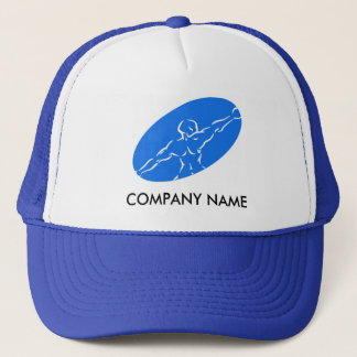 Fitness Customizable Hat - Blue