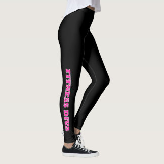 """FITNESS DIVA"" LEGGINGS"