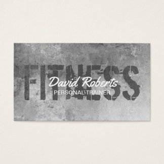 Fitness Personal Trainer Grunge Texture