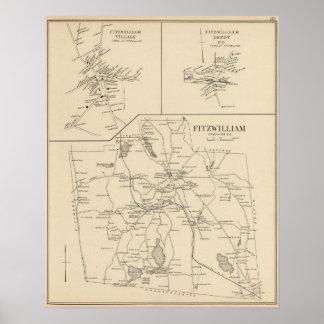 Fitzwilliam, Cheshire Co Poster